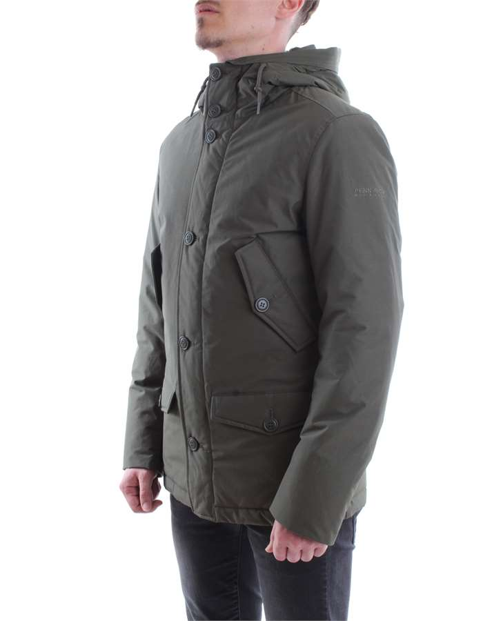 Penn-Rich Woolrich Jacket Mgr-green military