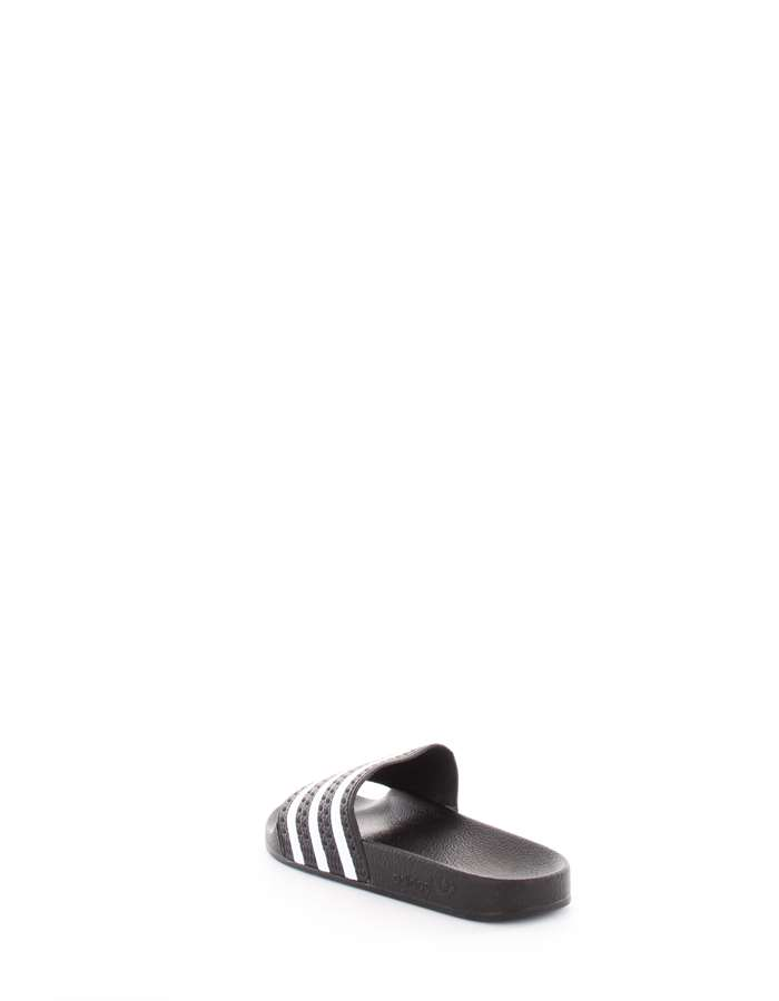 Adidas Originals Slippers Black White