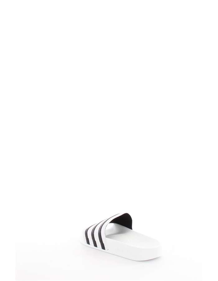 Adidas Originals Slippers White black