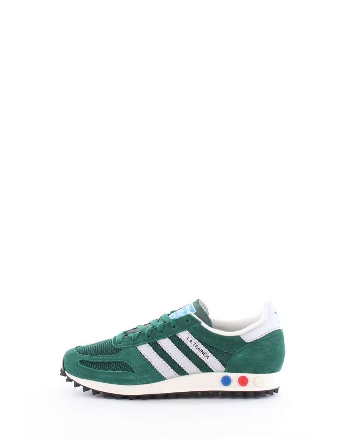 Adidas Originals Scarpe Uomo Sneakers Cgreen-msilve-cblack BY9325-LA-TRAINER-OG