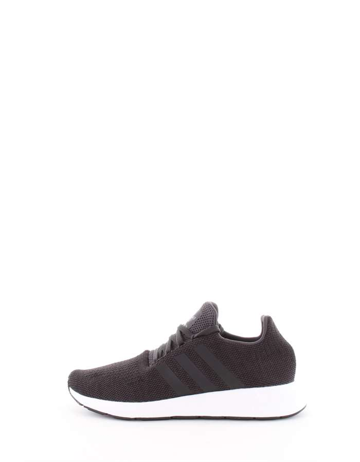 Adidas Originals Scarpe Uomo Sneakers Nero-bianco CQ2114-SWIFT-RUN