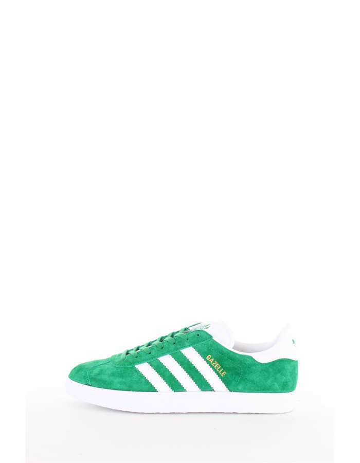 Adidas Originals Scarpe Uomo Sneakers Green-white-goldm BB5477-GAZELLE
