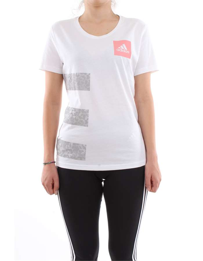 ADIDAS Clothing T shirt   CV4571-THREE-STRIPES