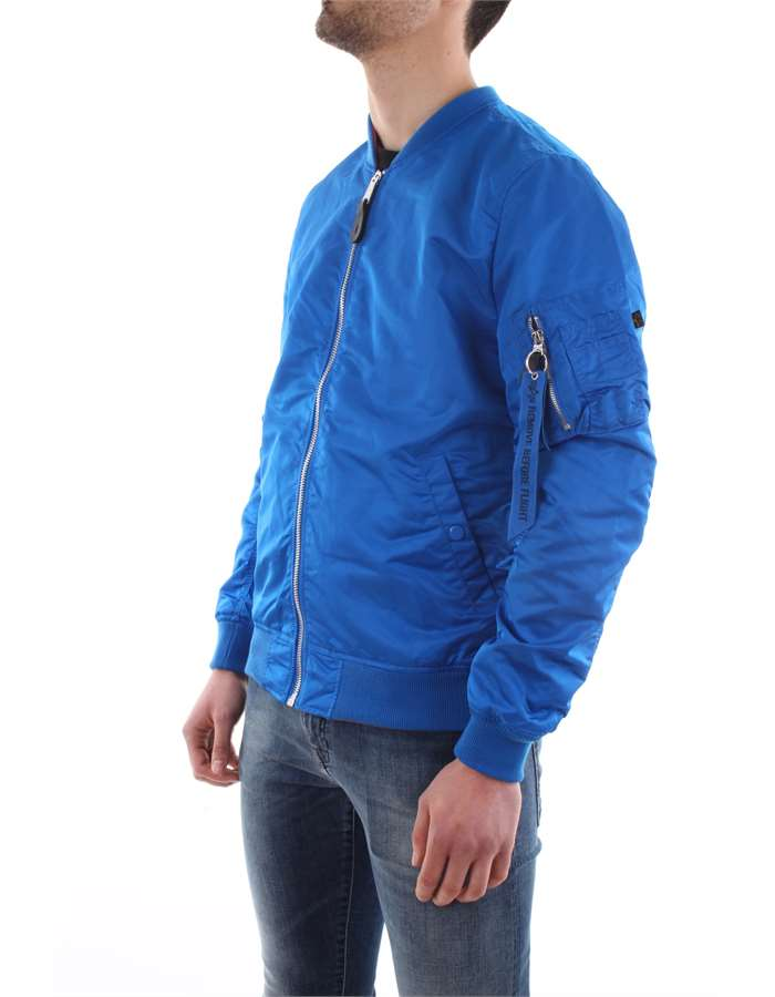Alpha Industries Jacket 420-blue-royal