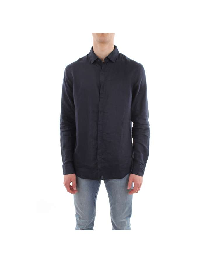 Armani Exchange Camicia 1510-navy