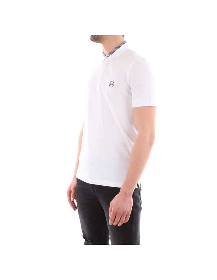 Armani Exchange Polo 1100-white