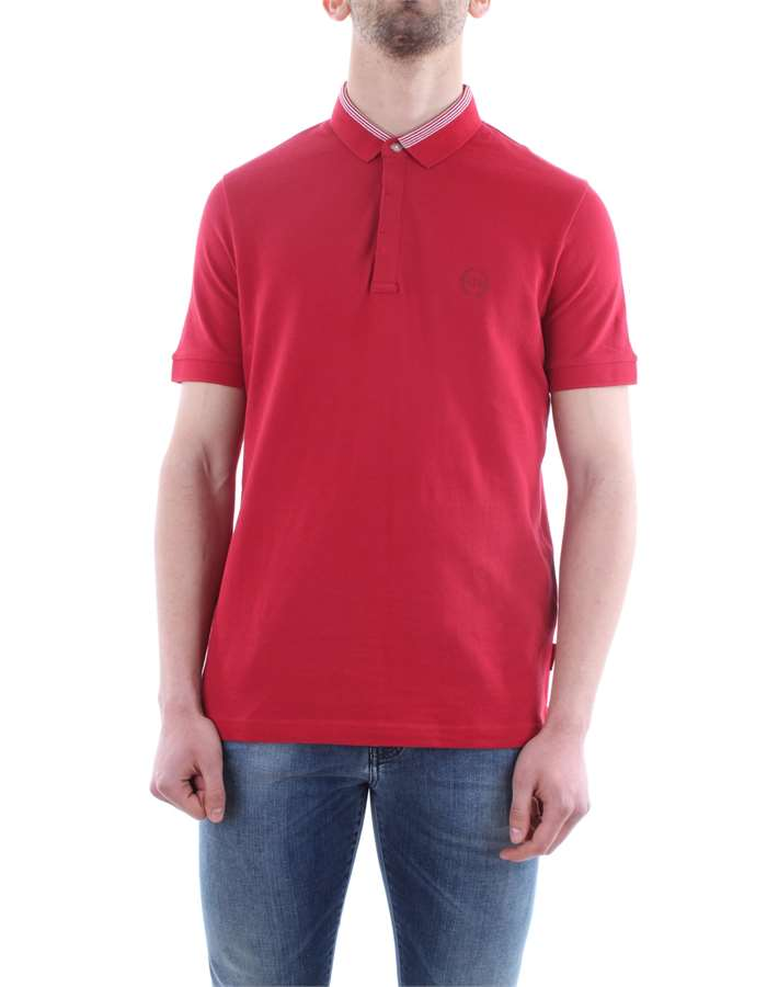 Armani Exchange Abbigliamento Uomo Polo 1435-chili-pepper 8NZFCA-Z8M5Z-POLO