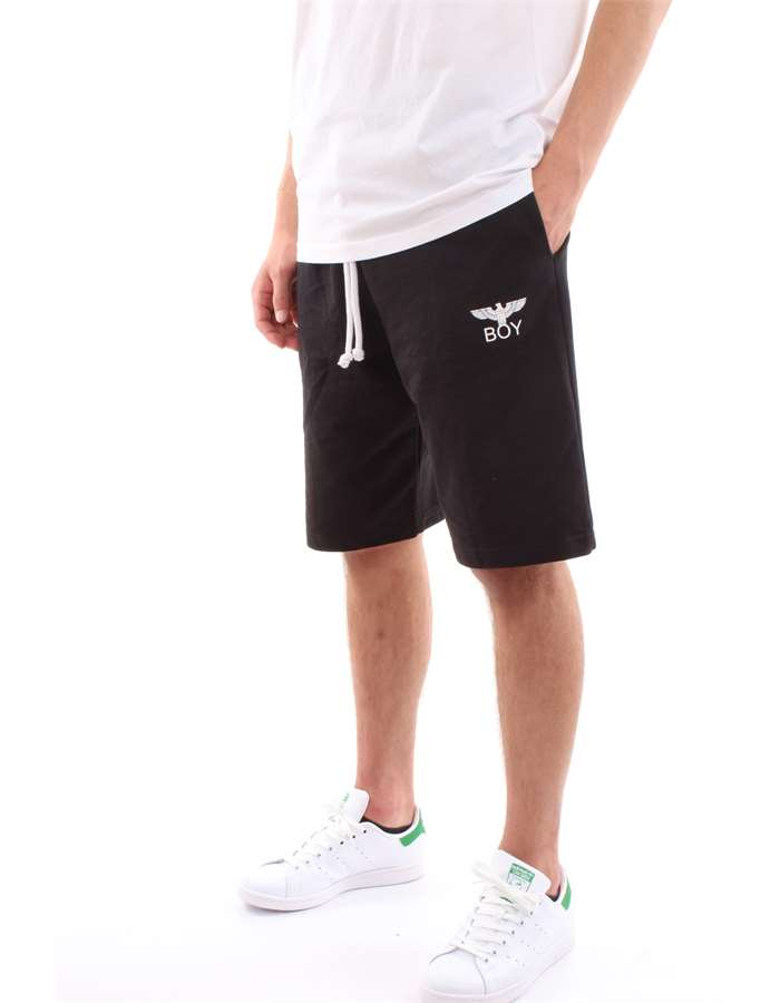 Boy London Bermuda shorts Black White