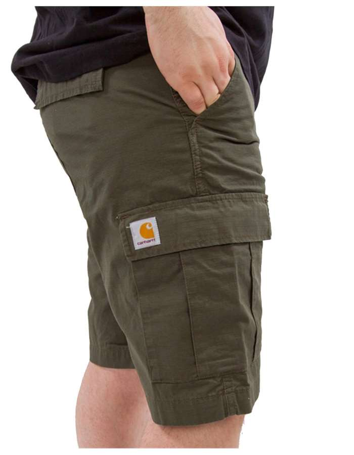 Carhartt Shorts 63-02-dark green