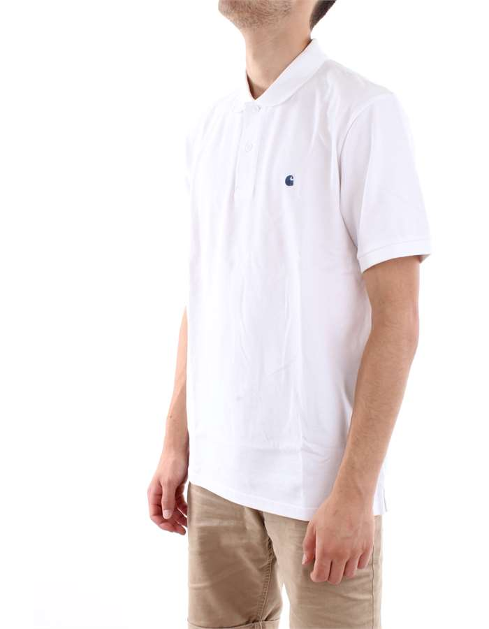 Carhartt Polo  02-91-white-blue