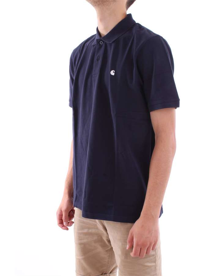 Carhartt Polo  1c-90-blue-dark
