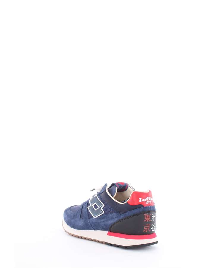 Lotto Leggenda Sneakers Blue-Red