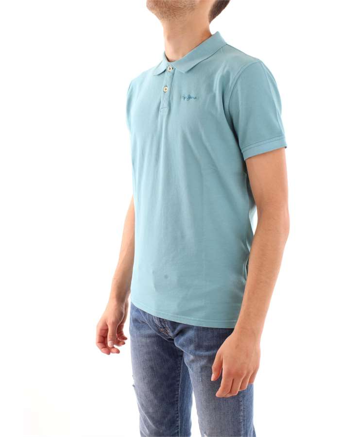 Pepe Jeans Polo  501-light blue