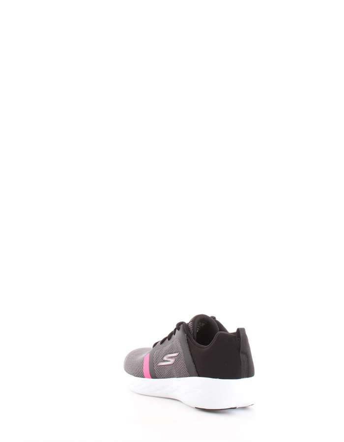 Skechers Running Shoes Bkhp-black-pink