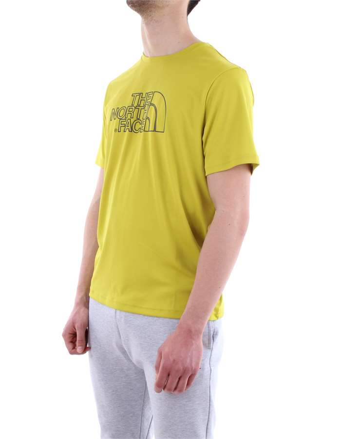 The North Face T shirt  1B0-yellow