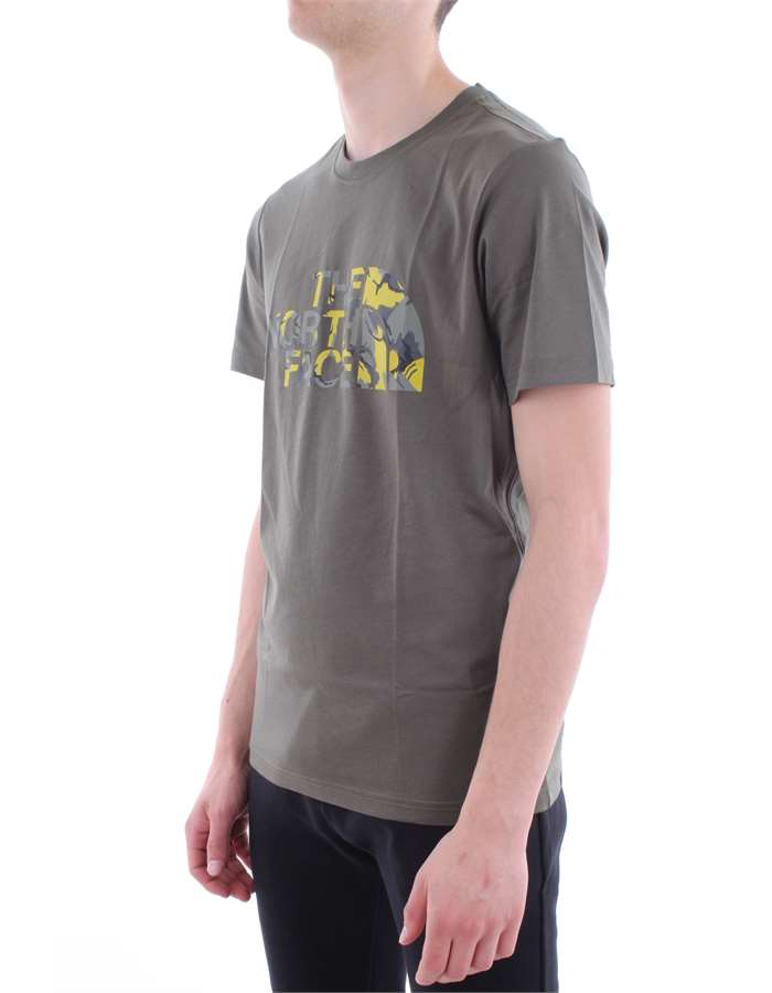 The North Face T shirt  Hcj-olive-green