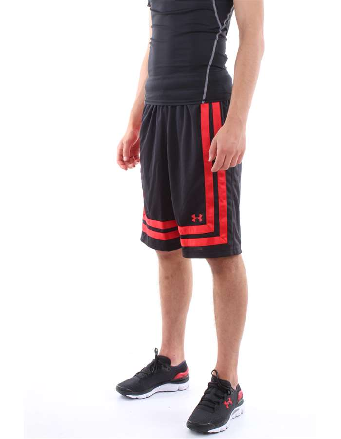 Under Armour Shorts 002-black-red