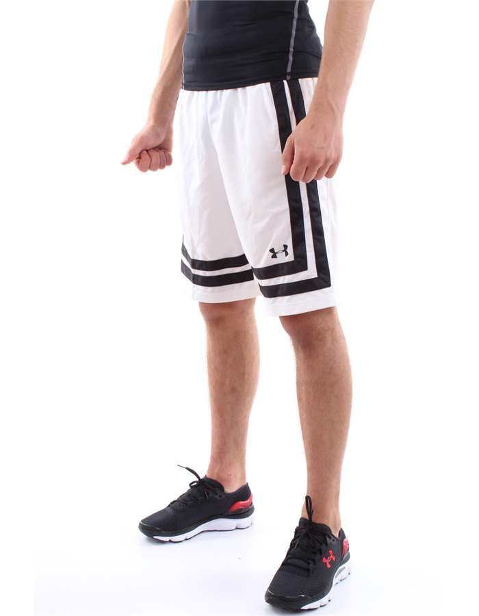 Under Armour Shorts 010-White-Black
