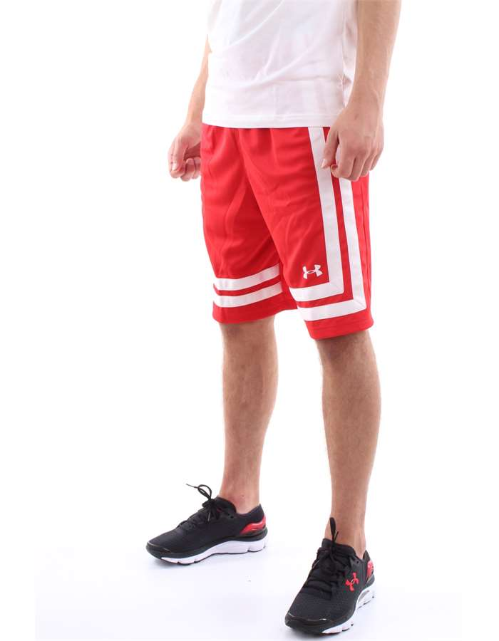 Under Armour Shorts 060-Red-White
