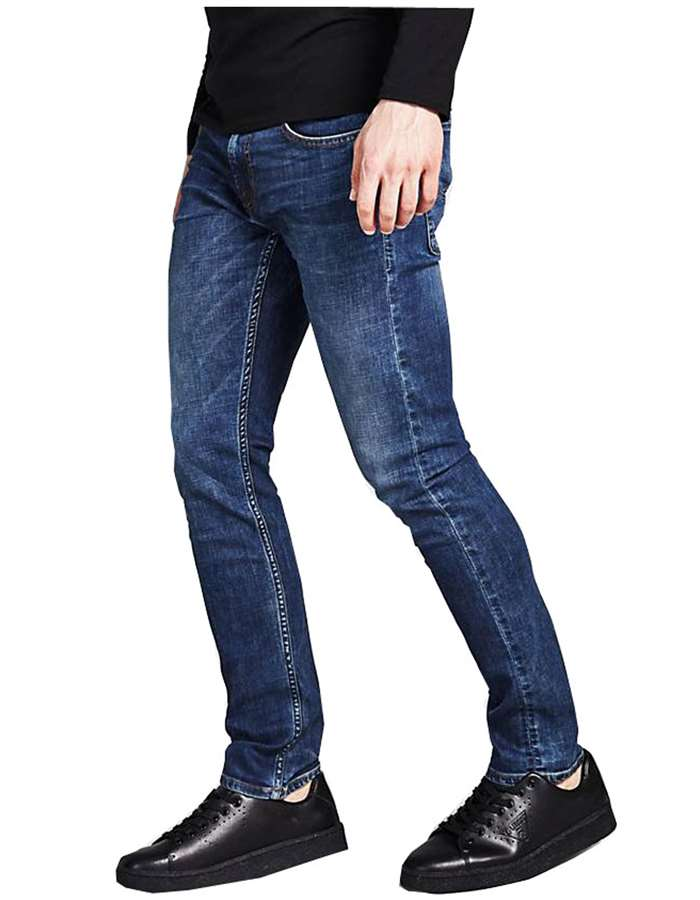 Guess Jeans Jeans Tper-denim-scuro