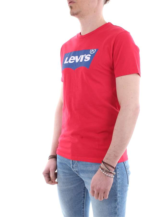 Levi's T-shirt 0173-rosso