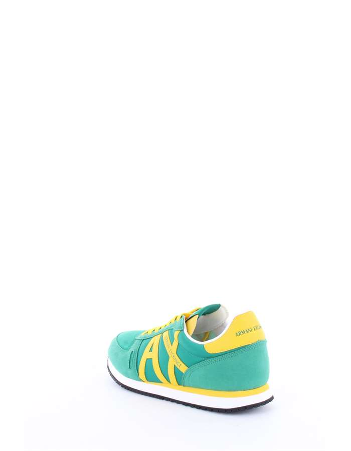 Armani Exchange Sneakers Green