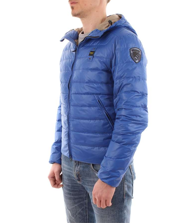 Blauer Giubbotto 876nr-blu-royal