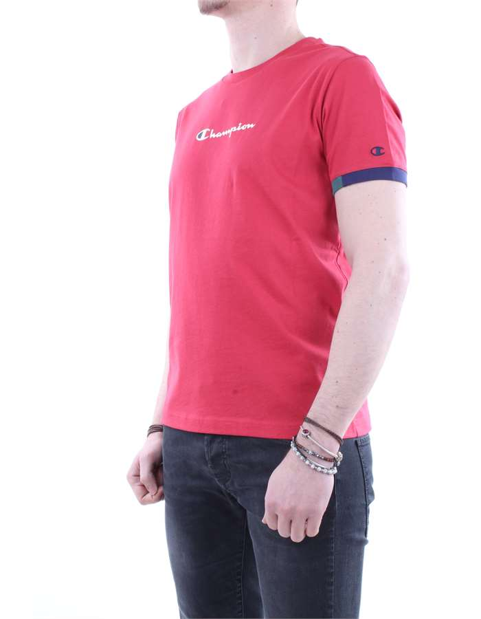 Champion Rochester T shirt  Red