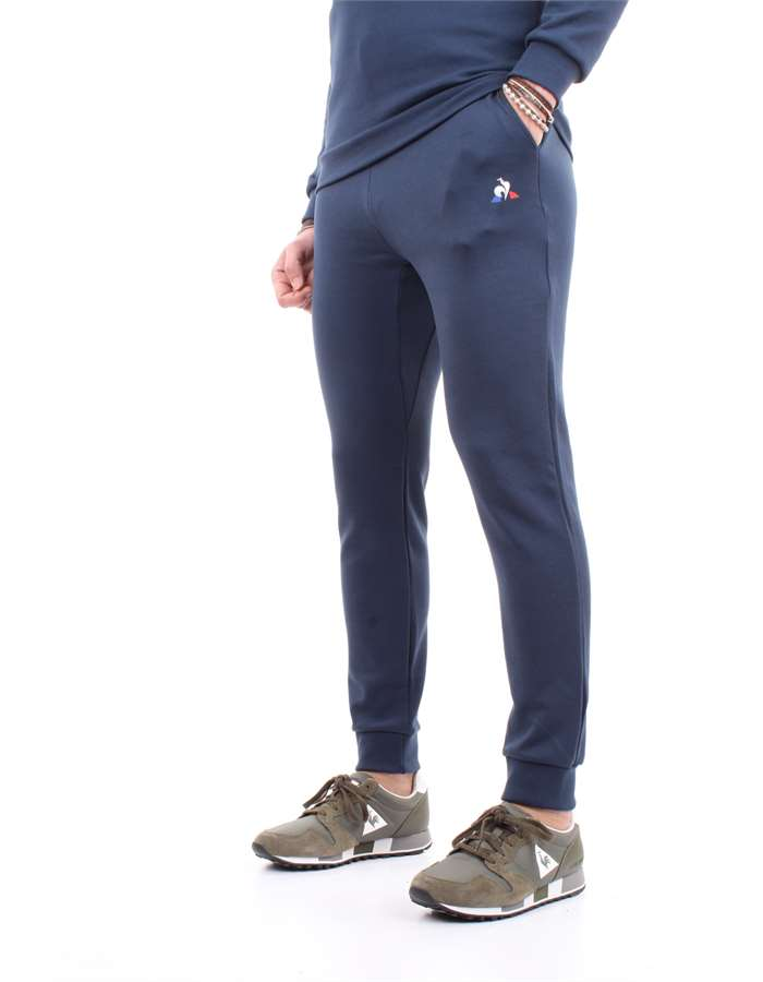 Le Coq Sportif Trousers Blue