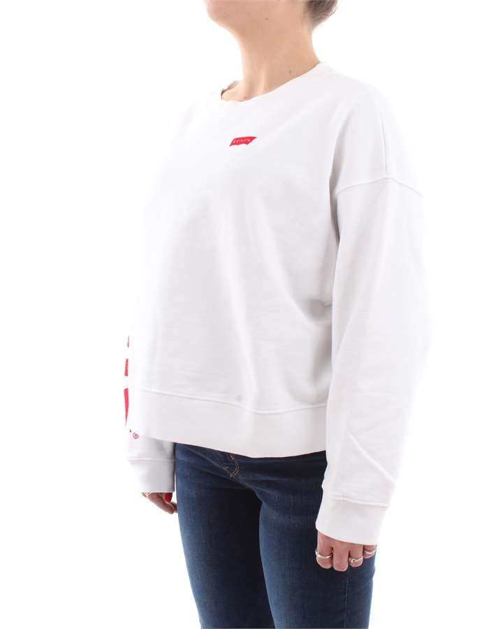 Levi's Sweat 0005-White