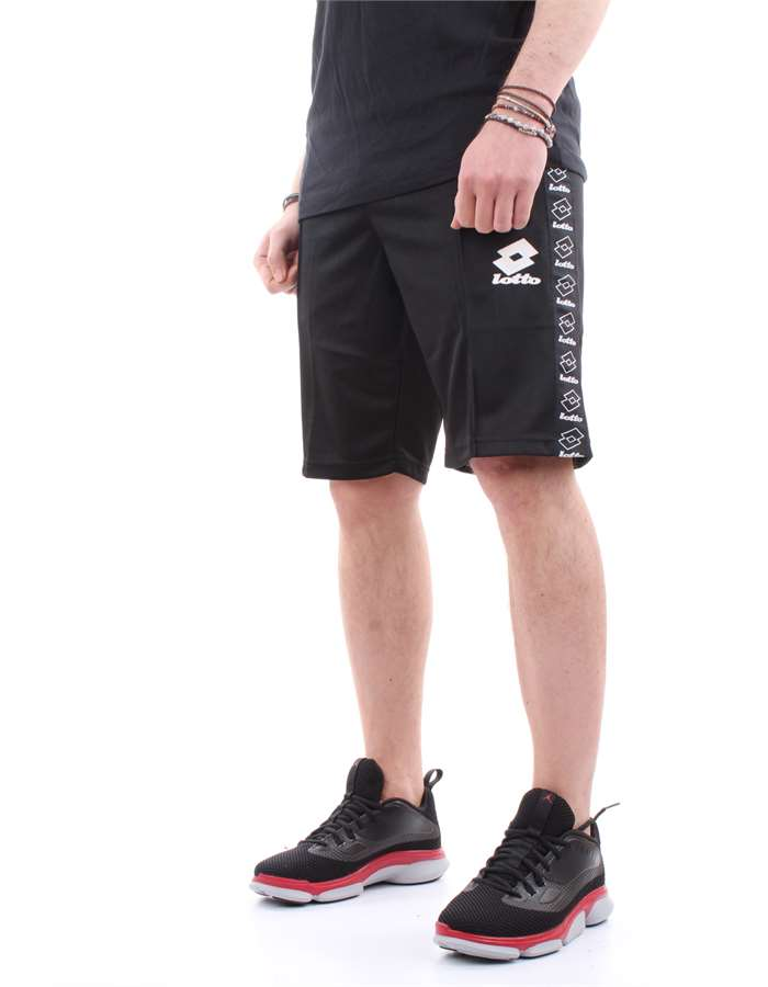 Lotto Bermuda shorts Black