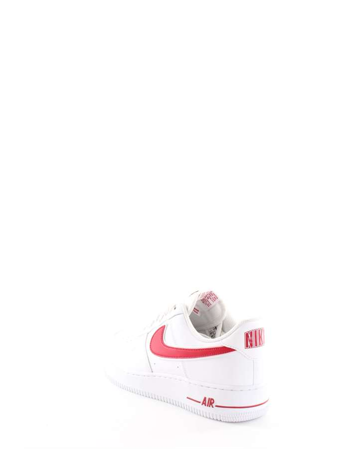 Nike Sneakers 102-bianco-rosso