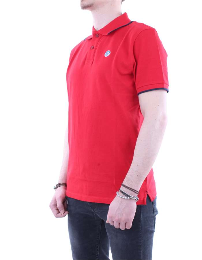 North Sails Polo  Red