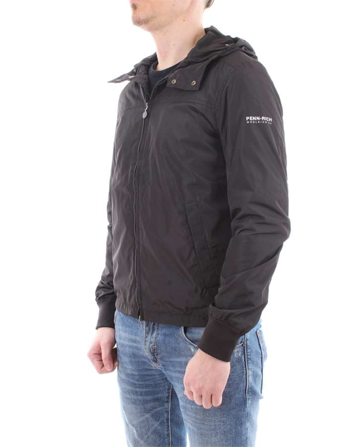 Penn-Rich Woolrich Jacket Black