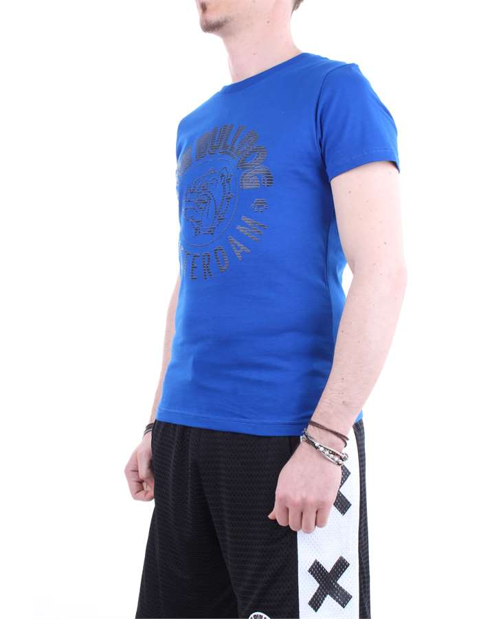 The Bulldog T shirt  Blue