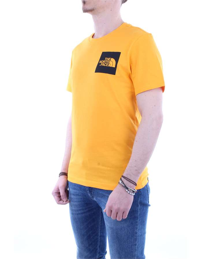 The North Face T shirt  Yellow