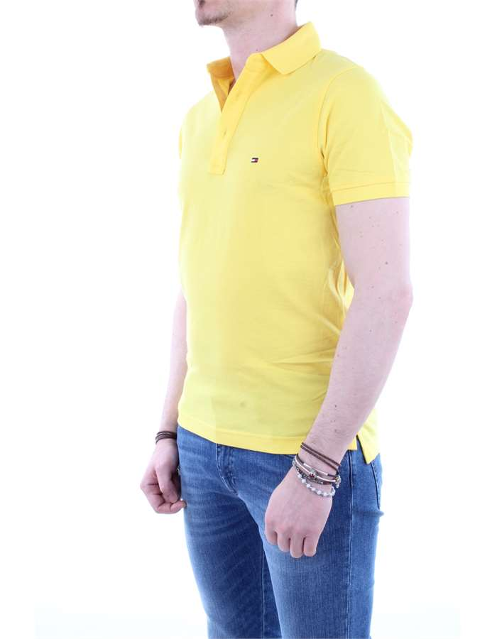 Tommy Hilfiger Polo  Yellow