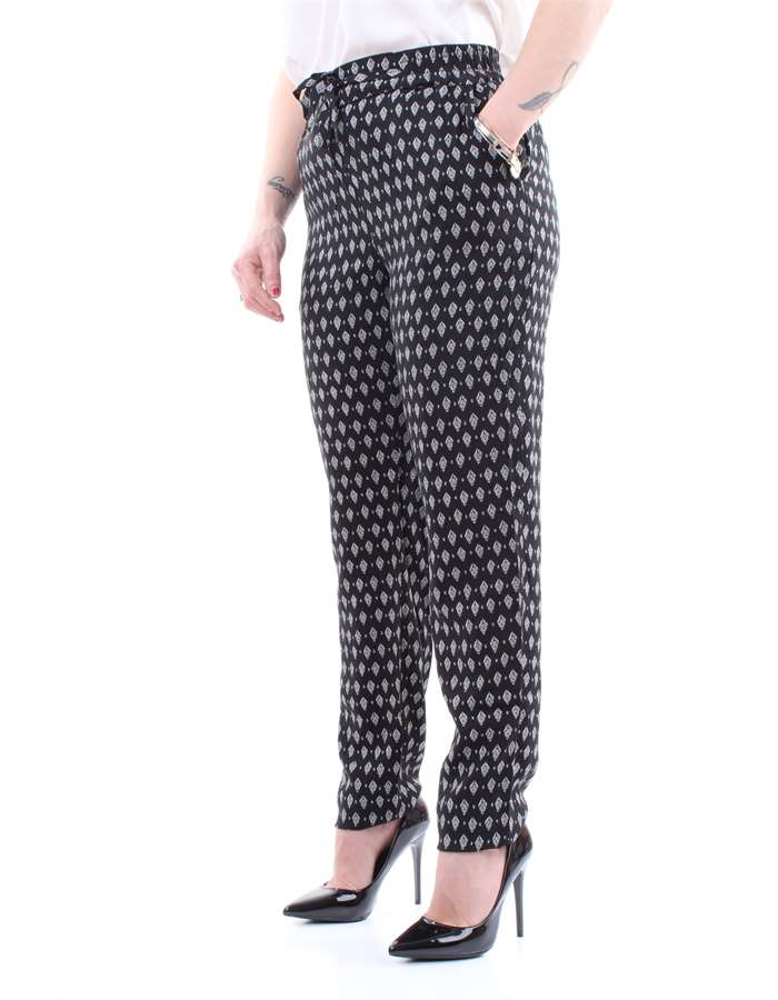 VERO MODA Trousers Black