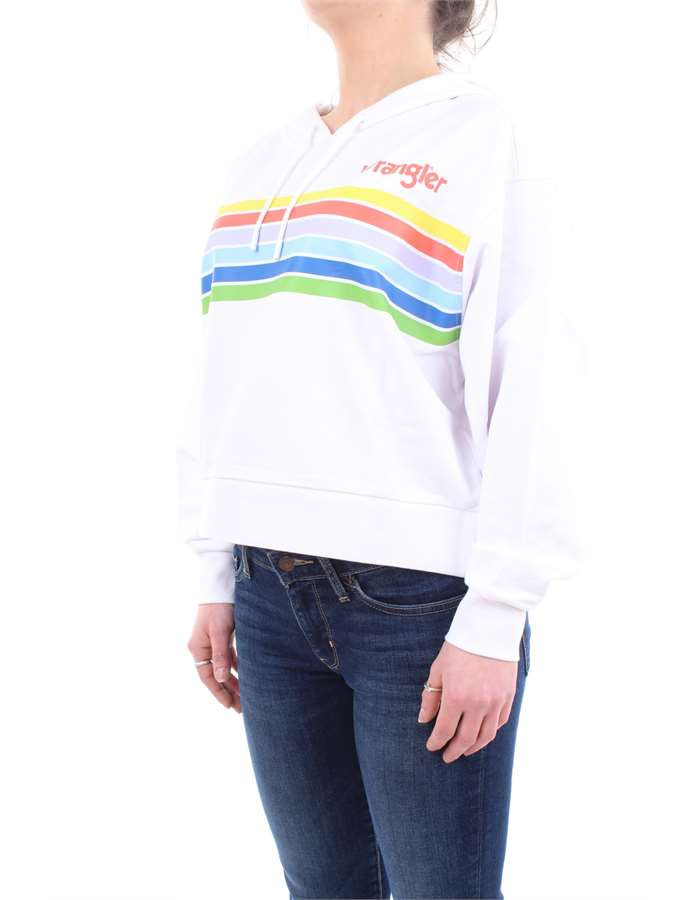 Wrangler Sweat White