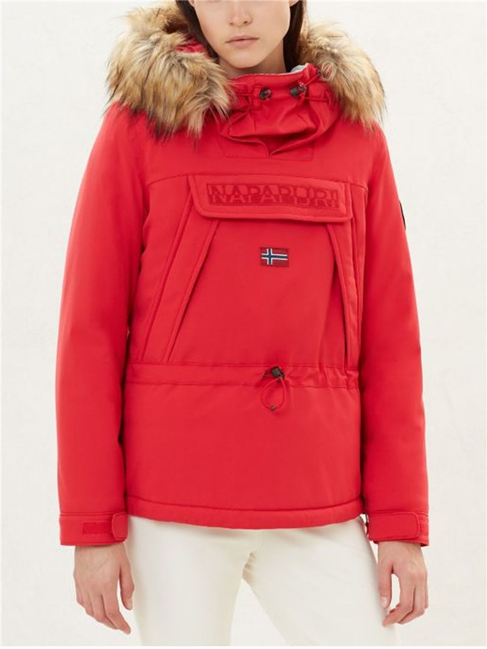 Napapijri Clothing WomenJacketR41-Red-popN0YI5A-SKIDOO-WOM