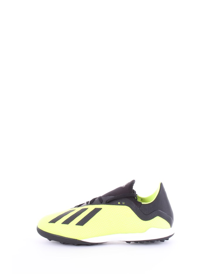 ADIDAS Shoes MenFootball shoesYellow blackDB2475-X-TANGO-18-3-TF