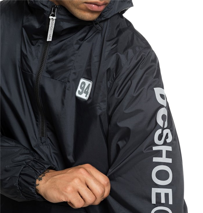 DC Shoes Clothing MenJacketKvj0-blackEDYJK03181-DC-GIACCA-BOLAM