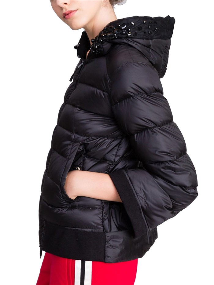 Twin-Set Clothing WomenJacket00006-blackPA82GQ-PIUMINO