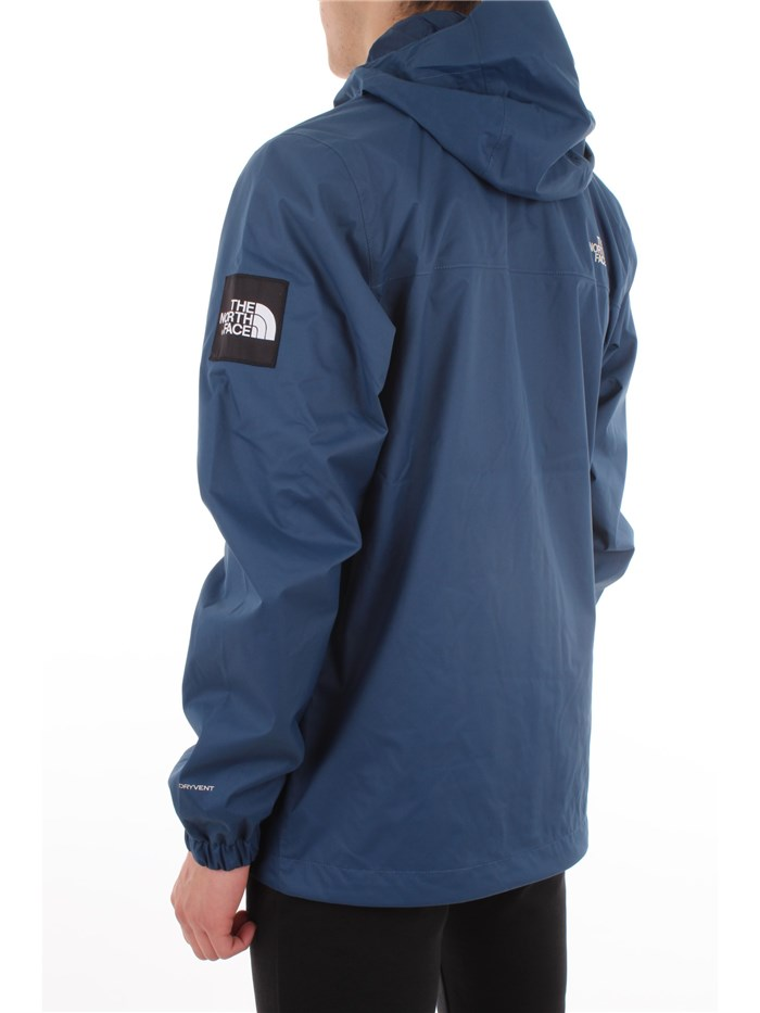 The North Face Clothing MenJacketN4L-blueT0CR3Q-M-MOUNTAIN-JKT-Q
