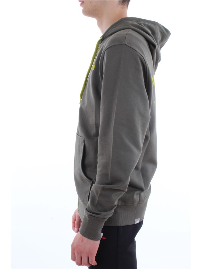 The North Face Clothing MenSweatshirtHcj-olive-greenT93BUC-M-EXTENT-II-LOGO-HD