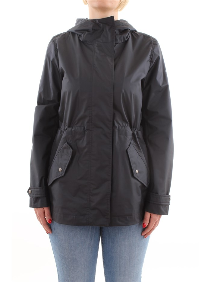 Penn-Rich Woolrich Clothing WomenJacket300-dark-navyWYCPS0508-YC05-F-YOUNG-CITY-PARKA