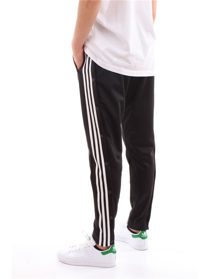 Adidas Originals Clothing MenPantaloneBlackCW1283-SNAP-PANTS