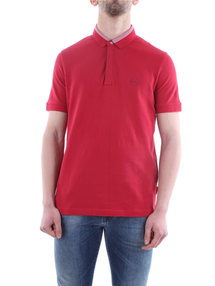 Armani Exchange Clothing MenPolo 1435-chili-pepper8NZFCA-Z8M5Z-POLO