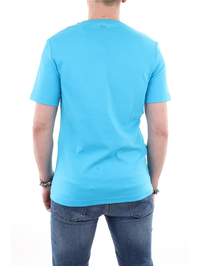Calvin Klein Performance Clothing T shirt Blue 00GMF8K156