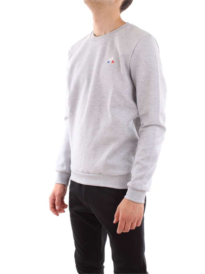 Le Coq Sportif Clothing Sweat Light grey 1811310-ESS-CREW-SWEAT-N-1